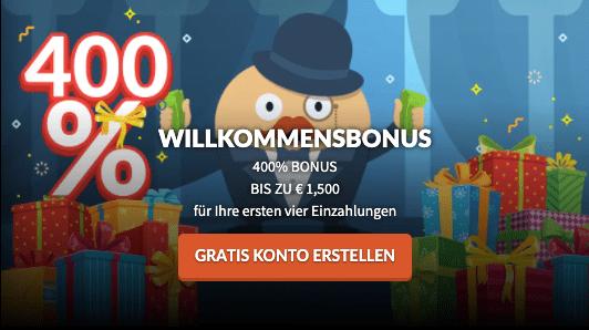Mr Bet Willkommensbonus